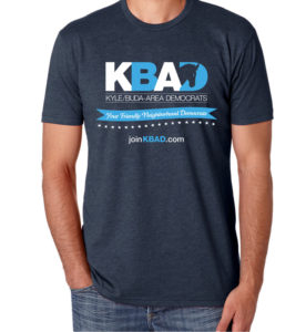 Get your shiny new KBAD t-shirt today!