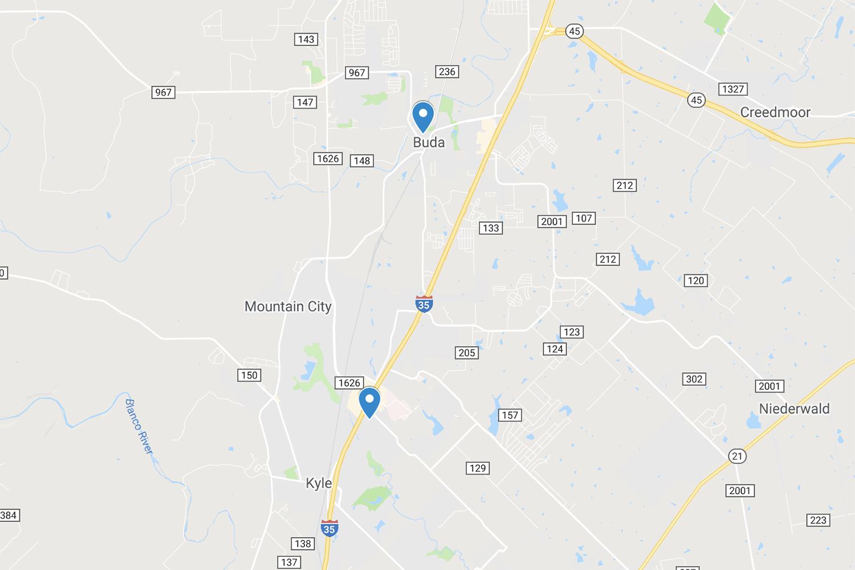 Image of Hays CISD voting locations in 2019