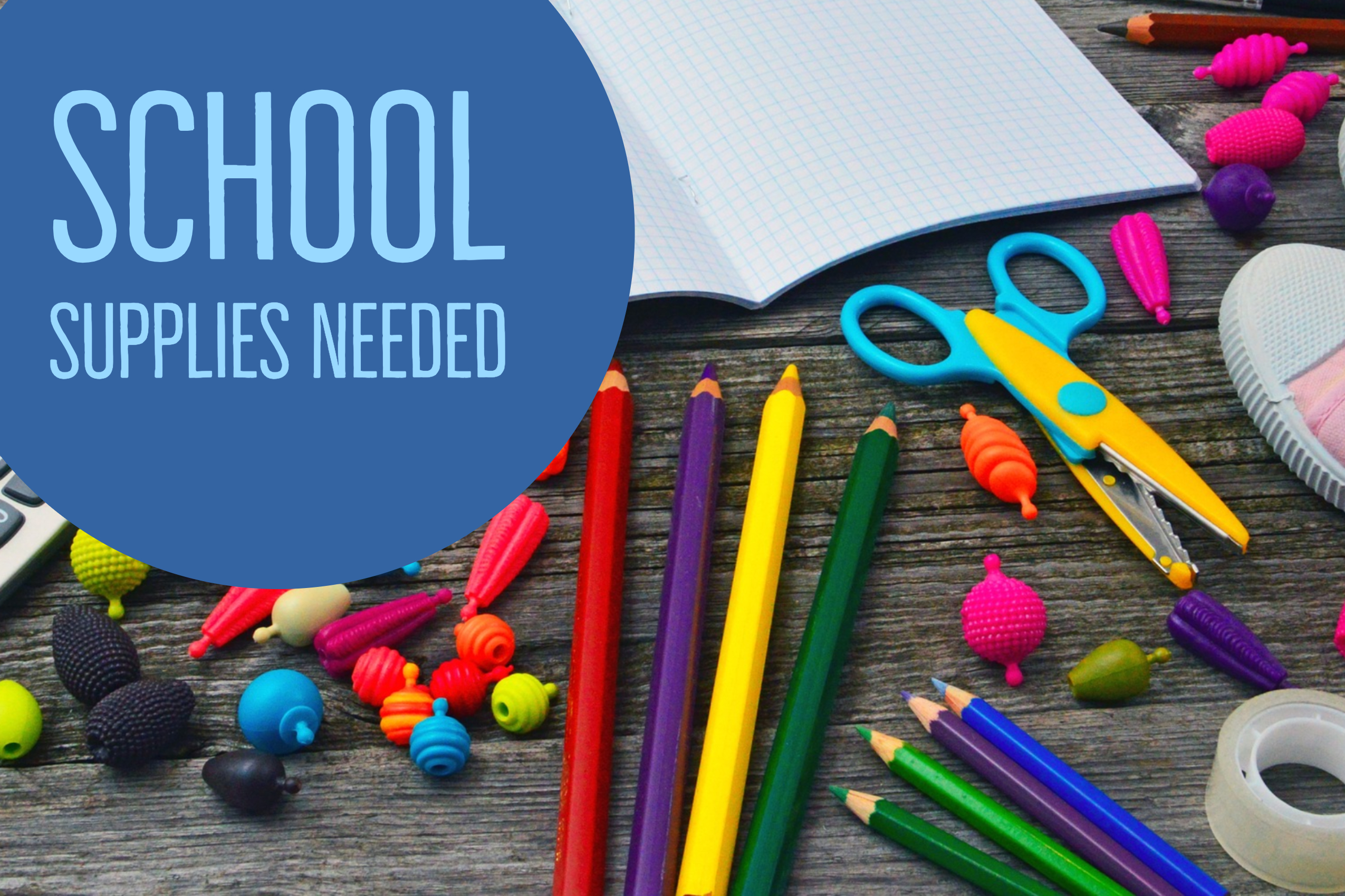School Supplies Landscape