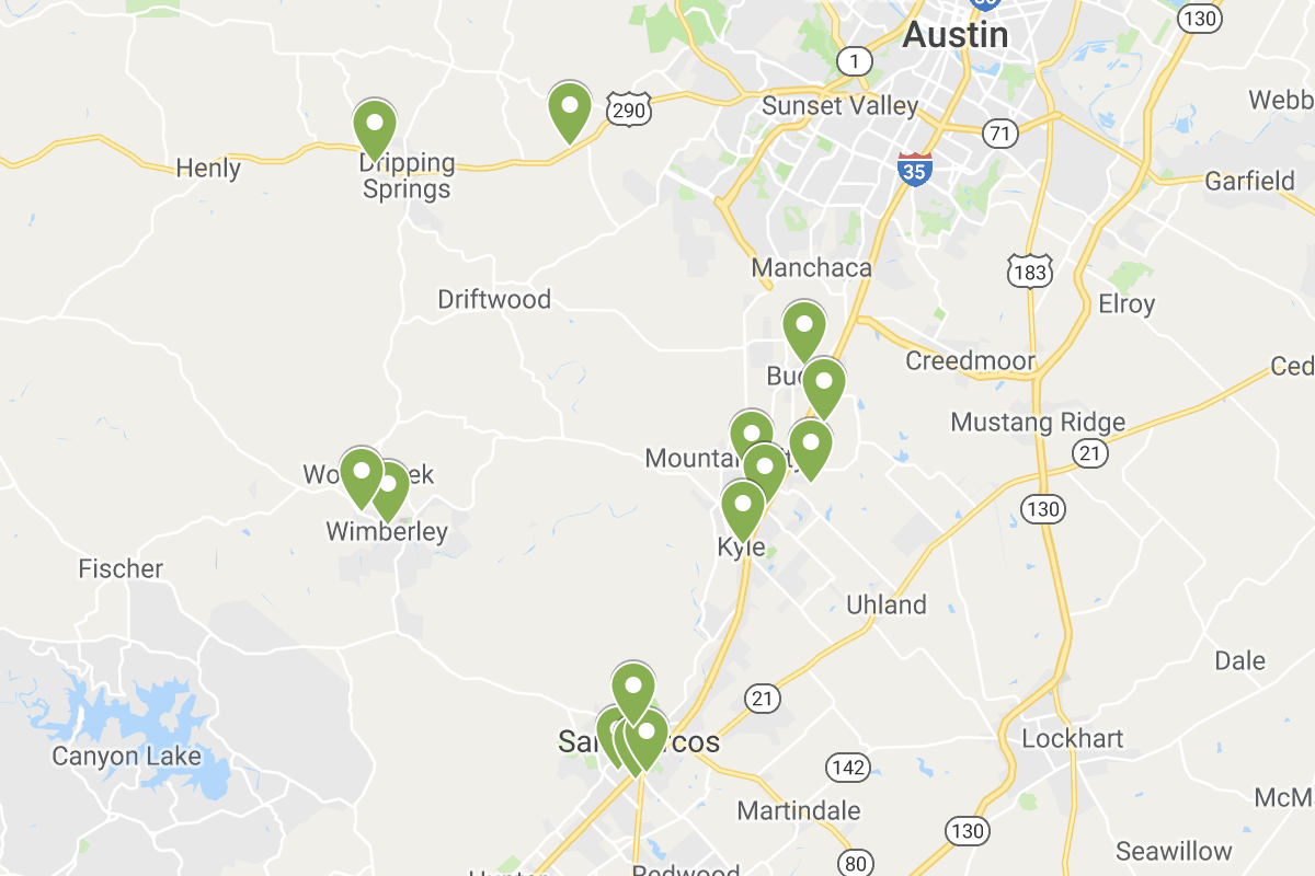 Early voting locations 2019 screenshot