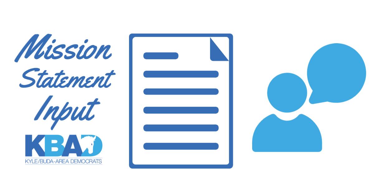 KBAD Seeks mission statement feedback