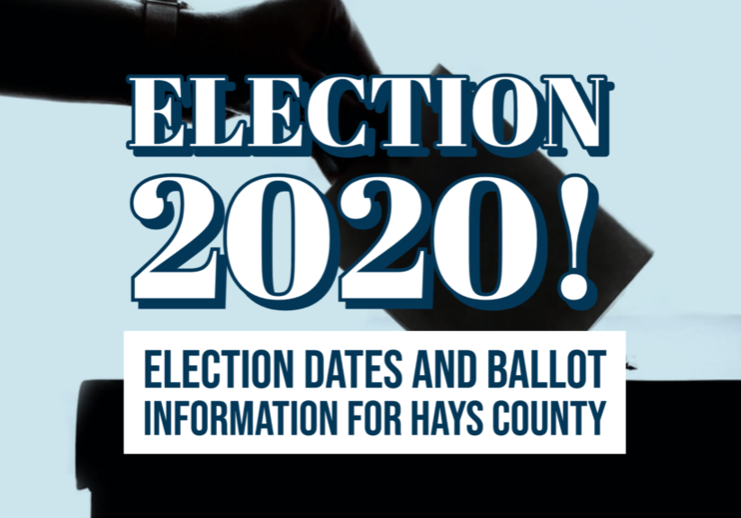 Election Dates and Ballot Info